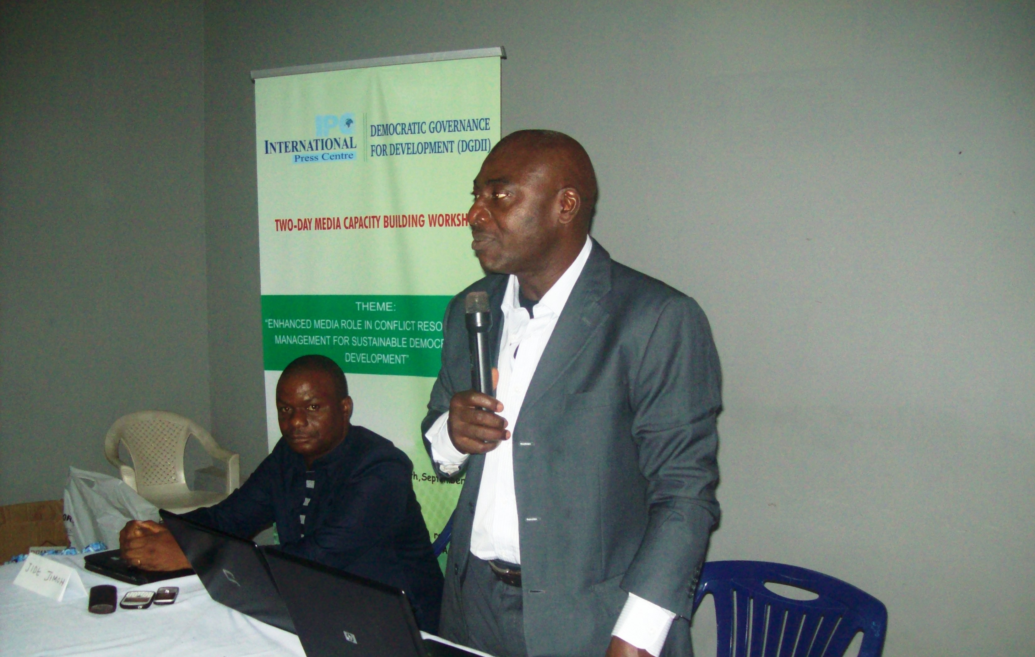 Conflict Sensitive Reporting Workshop Holds in Ado Ekiti