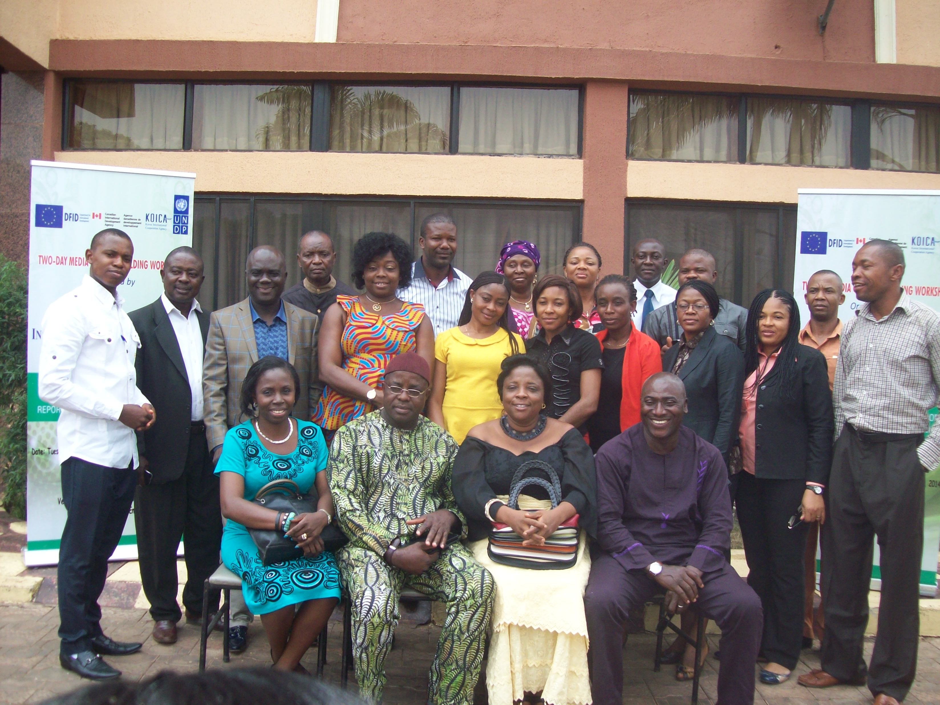 Media workshop on improving standard of election reporting and gender mainstreaming