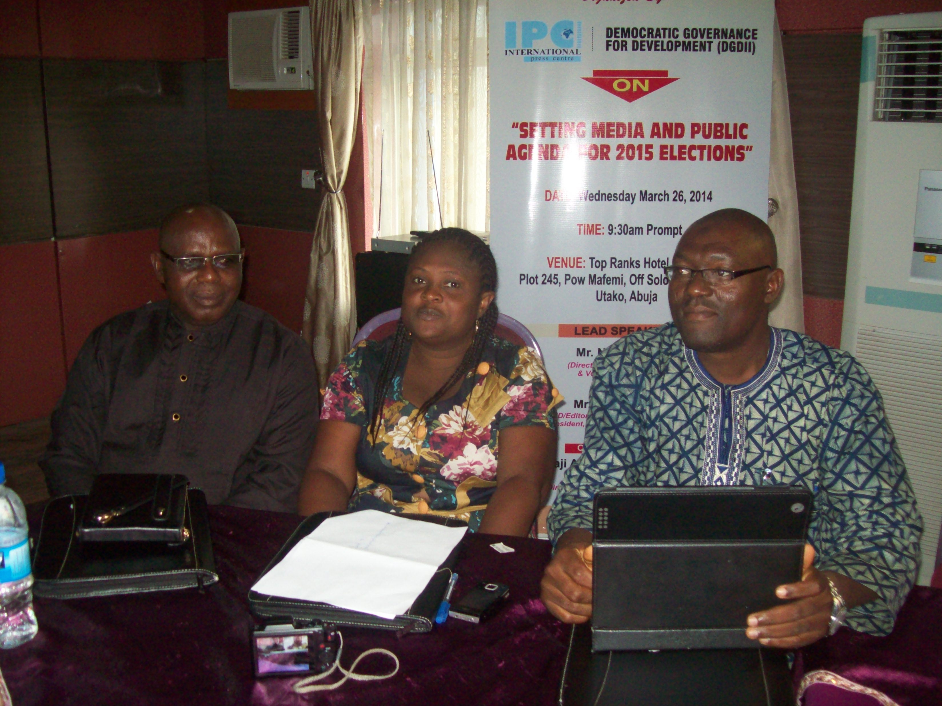 Communiqué of National Stakeholders' Roundtable on Setting Media and Public Agenda for 2015