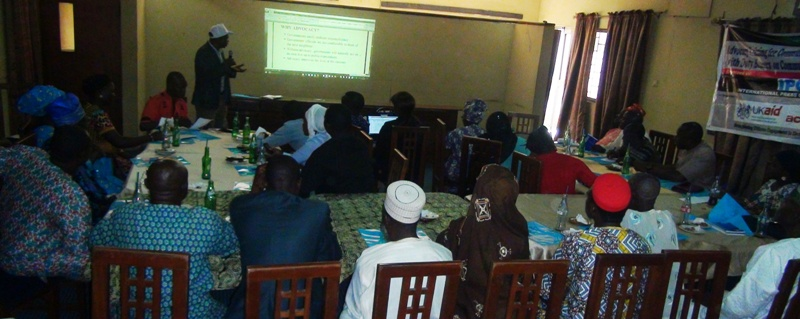 IPC, Actionaid hold training on accountability in governance