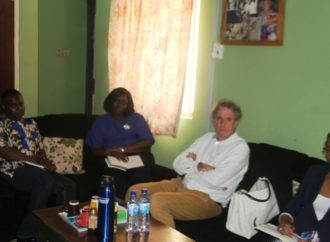The European Centre for Electoral Support (ECES) meets with International Press Centre (IPC), Lagos.